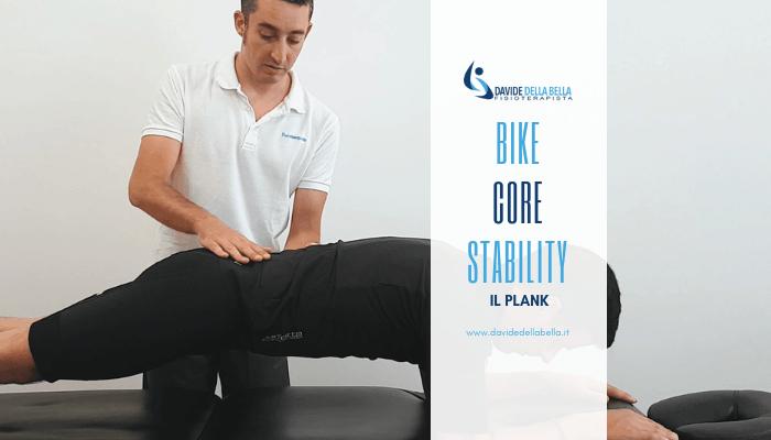 bike core stability plank
