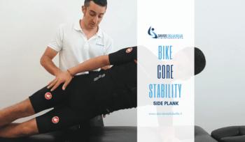 Bike Core stability: side palnk